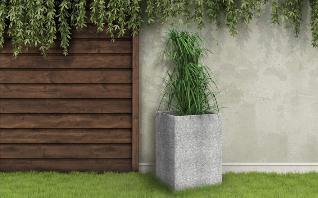 DONICZKA-DUZA donica z betonu, donice z betonu